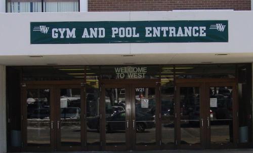 Gym and Pool Entrance