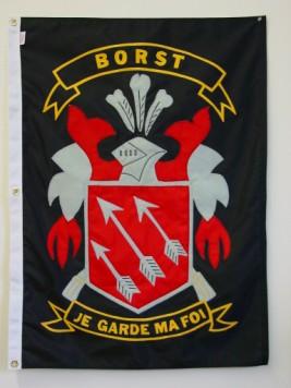 Family Crest Borst Banner