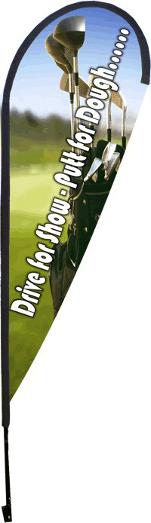 Golf Blade Banner
