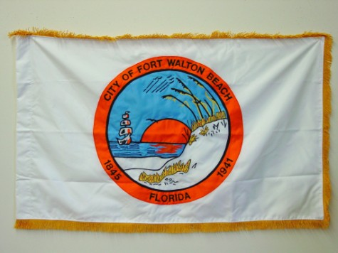 City of Fort Walton Beach, FL - Indoor Flag.JPG