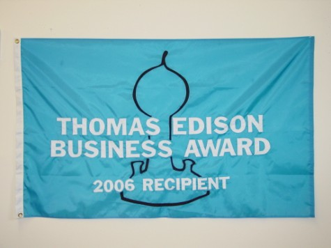 Thomas Edison Award Flag.JPG