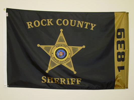 Rock County Sheriff Custom Digital Print Flag.jpg
