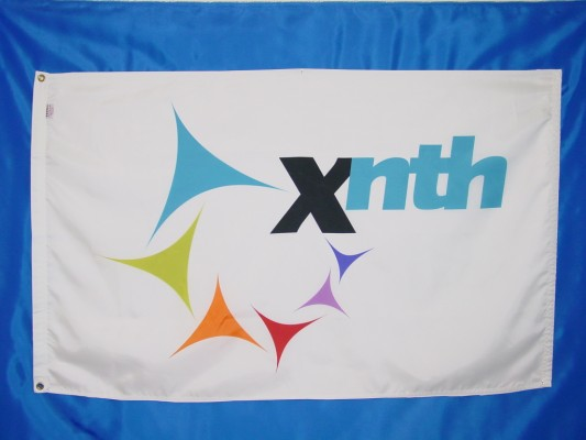 X to the nth - Digital Print Flag.JPG