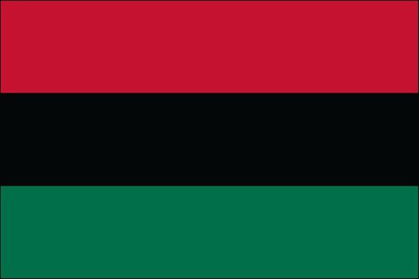Afro-American Nylon Flag