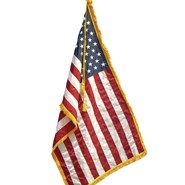 5x8ft U.S. Nylon Flag with Fringe