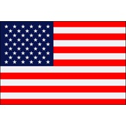 4x6ft Nylon Indoor U.S. Flag