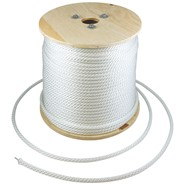 1/4in Wire Center Nylon Flagpole Halyard Spool