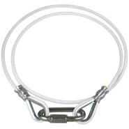 Rope Retainer Ring White