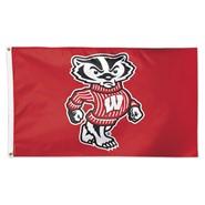 Wisconsin Univ Bucky 3x5ft Flag