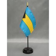4x6in Mounted Bahamas Flag