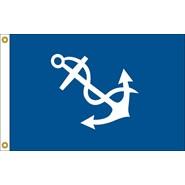 Port Captain Officer Flag