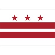 District of Columbia Polyester Flag