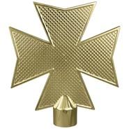 Metal Maltese Cross with Ferrule