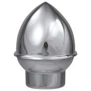 Silver Plastic Slip Fit Acorn