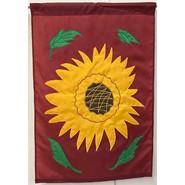 Sunflower 28x40in Applique Banner