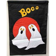 Boo Ghosts 28x40in Applique Banner