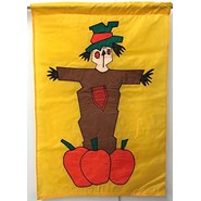 Scarecrow 28x40in Applique Banner