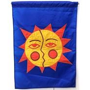 Aztec Sun 28x40in Applique Banner