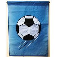 Soccer Ball (Blue) 28x40in Applique Banner