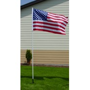10ft portable flagpole kit