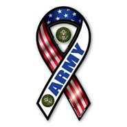 Army Red White Blue Magnet