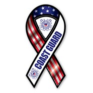 Coast Guard Red White Blue Magnet