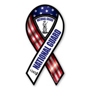 National Guard Red White Blue Magnet