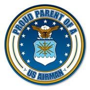 Proud Parent U.S. Airman Magnet