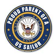 Proud Parent U.S. Sailor Magnet