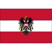 Austria with Eagle Nylon Flag