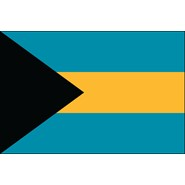 Bahamas Nylon Flag
