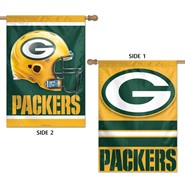 "Packers 2 Sided 27""x40"" Banner"