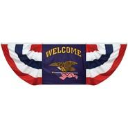 Welcome Flying Eagle Fan Drapes