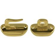 Brass Hook and Eye