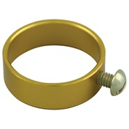 Aluminum Flag Ring Gold