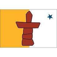 Nunavat 3x5ft Flag