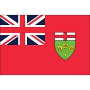 Ontario 3x5ft Flag