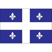 Quebec 3x5ft Flag