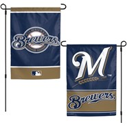 "Brewers 2-Sided 12.5""x18"" Garden Flag"