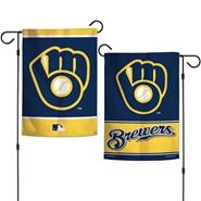 "Brewers Retro 2-Sided 12.5""x18"" Garden Flag"