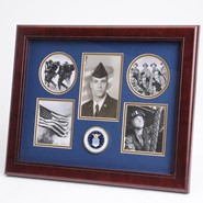 "Air Force Medallion 5 Photo Collage 13x16"" Frame"