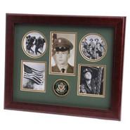 "Army Medallion 5 Photo Collage 13x16"" Frame"