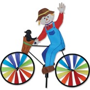 Scarecrow Bike Spinner 20in