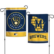 "Brewers 2020 2-Sided 12.5""x18"" Garden Flag"