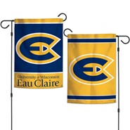 "UW-Eau Claire 2-Sided 12.5""x18"" Garden Flag"