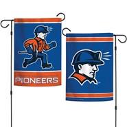 """UW-Platteville 2-Sided 12.5""""x18"""" Garden Flag"""