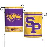 """UW-Stevens Point 2-Sided 12.5""""x18"""" Garden Flag"""