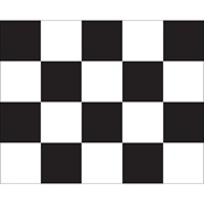 Checkered Flag Printed 24x30in