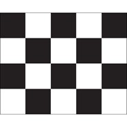 Checkered Flag Sewn 24x30in