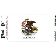 Illinois Decal 3.5x5in